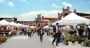 Mercado Productores, en Matadero Madrid