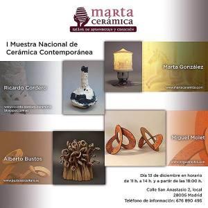 I Muestra Nacional de Cerámica Contemporánea