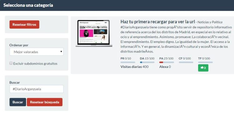 ¡Busca #DiarioArganzuela en Publisuites!
