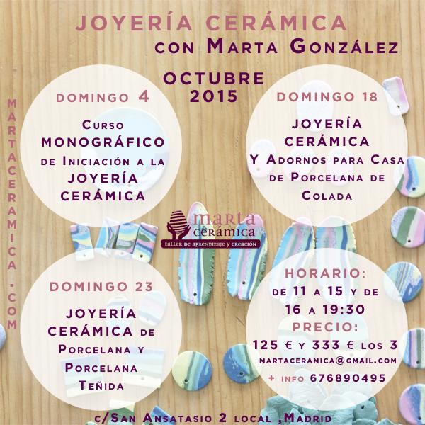 Joyería con Marta Cerámica