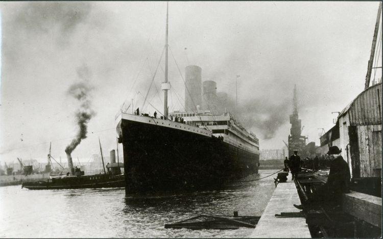 El Titanic zarpa