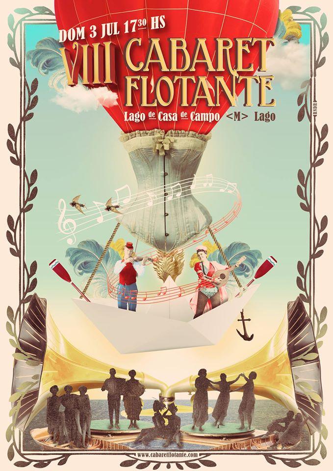 Cabaret Flotante 2016. Metro Lago.